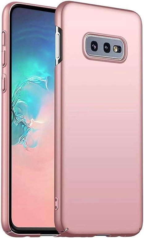 Funda Samsung Galaxy S10e / S10 Lite Caja Caso MUTOUREN PC Carcasa Anti-Scratch Anti-rasguños Bumper Protectora de teléfono Case Cover para Samsung Galaxy S10e / S10 Lite (Oro Rosa): Amazon.es: Electrónica