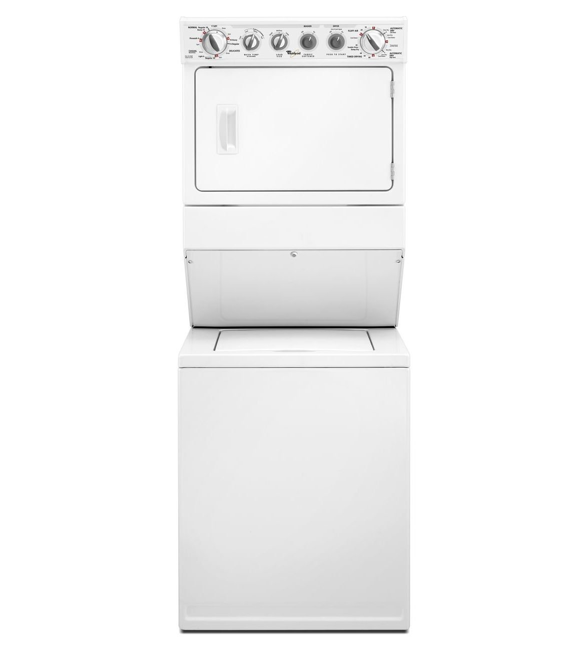 amazoncom whirlpool wet3300xq 84 cu ft white electric washerdryer combo appliances
