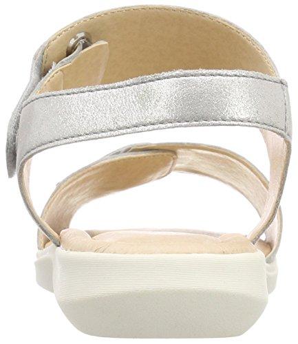 920 Argento Caviglia Sandali Caprice Con silver Alla Donna Metal 28600 Cinturino nw4f0Ffqv