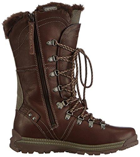 332d34b4 Merrell Natalya Waterproof, Women's Drawstring Snow Boots - Black