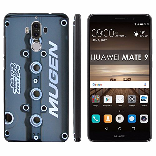 Huawei Mate 9 Back Cover [Mobiflare] [Black] Slim Clip-On Case [Screen Protector] - [Mugen Valve Cover] for Huawei Mate 9 [5.9