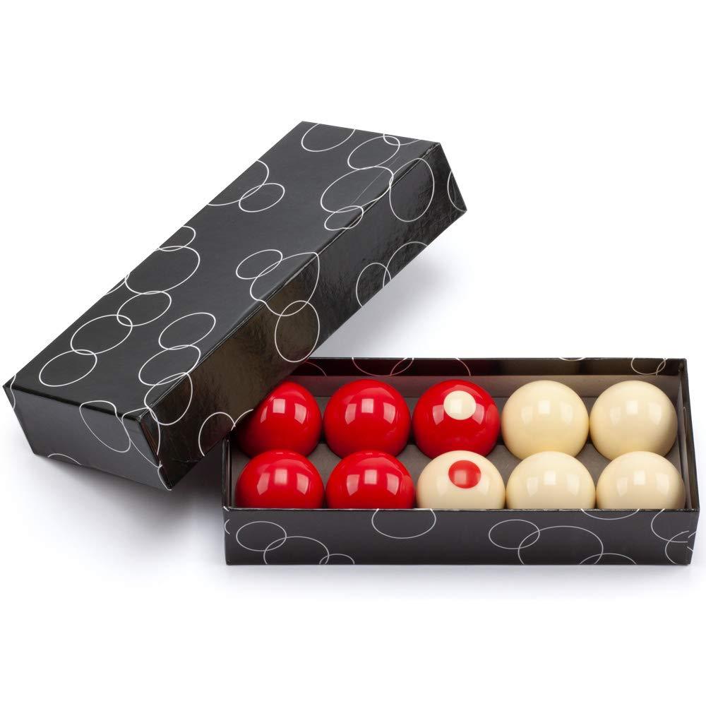 Standard 10 Billiard Ball Set GSE Games /& Sports Expert 2-1//8 Regulation Size Bumper Pool Balls