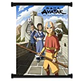 """Nickelodeon Avatar the Last Air Bender Cartoon Fabric Wall Scroll Poster (32""""x42"""") Inches"""