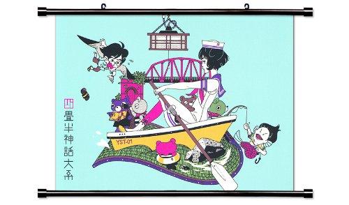 The Tatami Galaxy Anime Fabric Wall Scroll Poster Wp Tat-7 L