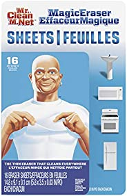 Mr. Clean Magic Eraser Cleaning Sheets, The Power Of A Magic Eraser In A Thin, Flexible, Disposable Sheet, 16