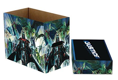 DC Comics Justice League Short Comic Storage - Boxes League Justice