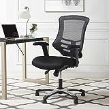 Modway EEI-3042-BLK Articulate Calibrate Mesh Adjustable Swivel Ergonomic Black, Office Chair, Black Mesh