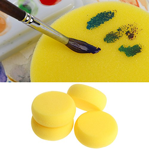 TOOGOO 12 Pcs Painting Sponge Brush Synthetic Artist Sponges Brush Watercolor Sponges Brush Painting, Crafts, Pottery More by TOOGOO (Image #7)