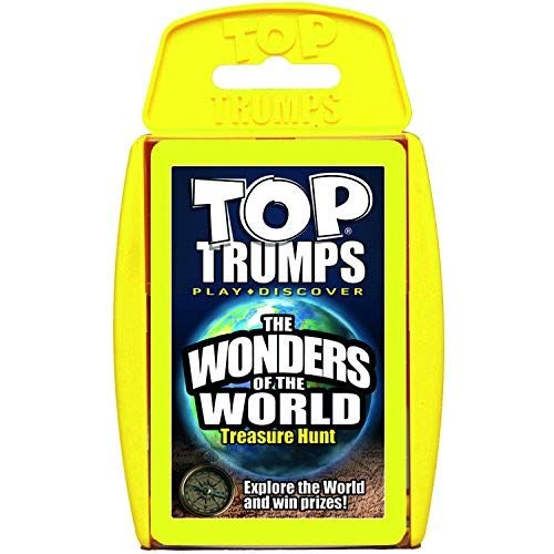 (Wonders of the World Top Trumps Card Game)