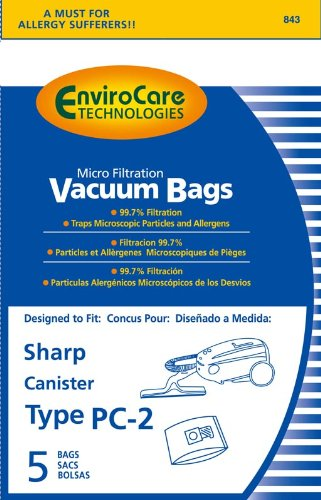 Sharp Canister PC 2 Vacuum EnviroCare