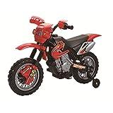 TOYZZ KIDS MOTOCROSS RIDE ON SCRAMBLER MOTORBIKE ELECTRIC 6V BATTERY Red