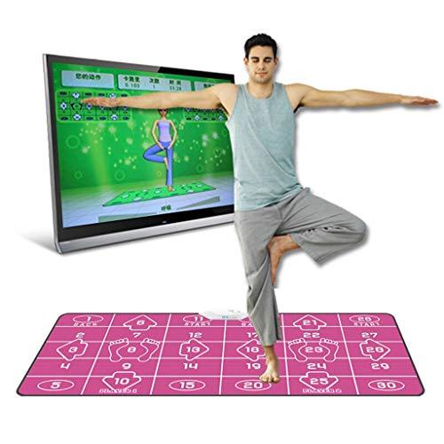 LSZ Wireless-Yoga-Matte Tanzmatte HD 4K Smart-Doppel Wireless Tanzmatten