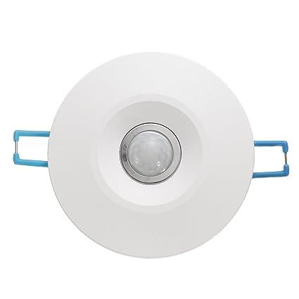 MASUNN 360 ° Infrarrojos Ir Techo Pared Sensor De Movimiento Empotrado Detector De Luz Auto Interruptor