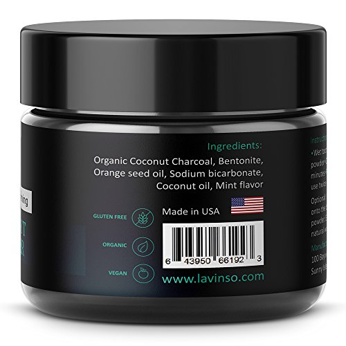 natural charcoal teeth whitening powder made in usa with organic coconut activated charcoal. Black Bedroom Furniture Sets. Home Design Ideas