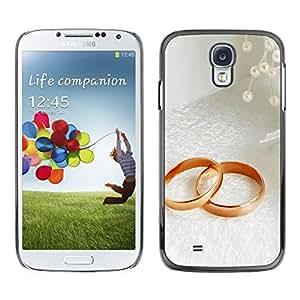 Smartphone Rígido Protección única Imagen Carcasa Funda Tapa Skin Case Para Samsung Galaxy S4 I9500 Couple Ring / STRONG
