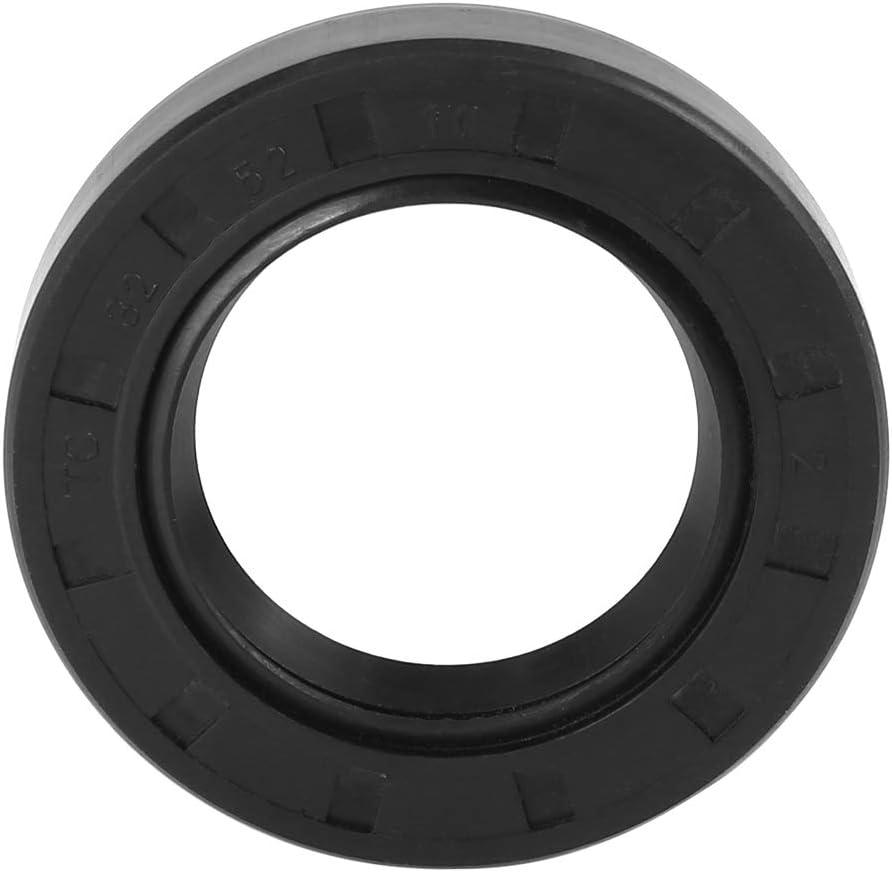 X AUTOHAUX 32mm X 52mm X 10mm Caoutchouc Couvercle Double L/èvre TC Huile Tige Joint pour Voiture