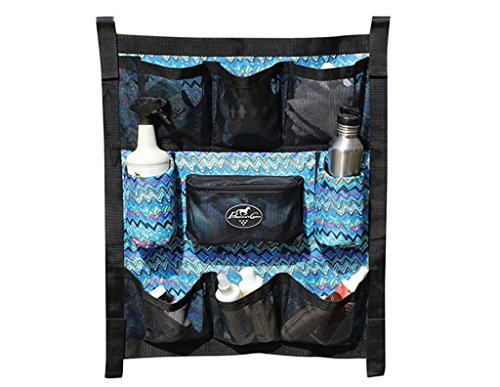 Professionals Choice Caddy Grooming Trailer Door Caddy Short Blue HA (Rancher Short)