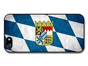Bavarian Flag Germany Bavaria Flagge Bayern case for iPhone 5 5S