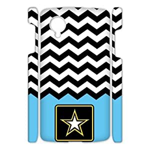 Canting_Good US Army Chevron Custom Case Shell Cover for Google Nexus 5 3D
