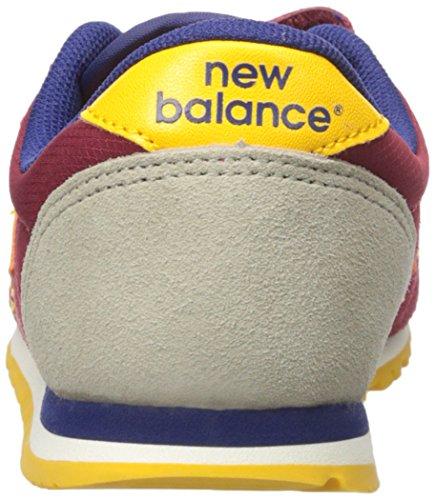 New Balance KE420 Hook and Loop KE420BYY, Deportivas Burgundy/Yellow