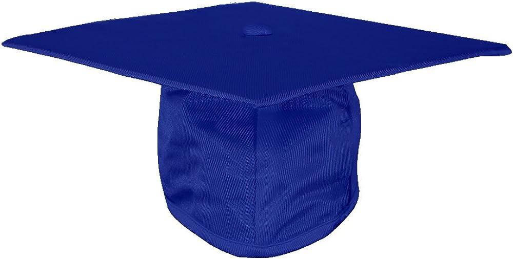 GGS Shiny Kindergarten Graduation Cap Adjustable with Tassel 2019 Year Charm