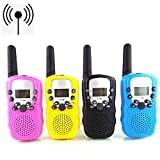 Kids Walkie Talkie Kids Toys Wireless Talkie Rechargeable The Top Built-in LED Torch