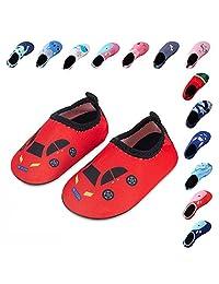 Kids Swim Water Shoes Boys Girls Toddler Barefoot Aqua Sock Shoes for Beach Pool Surfing Yoga Swimming Walking Unisex