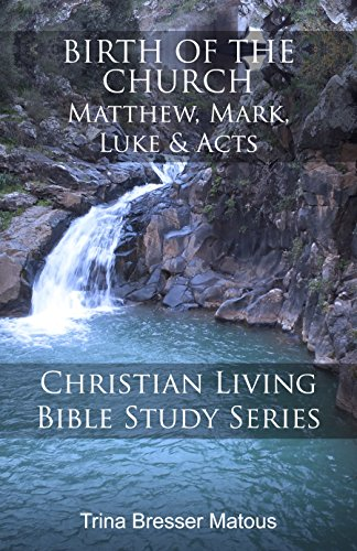 Birth of the Church: Matthew, Mark, Luke and Acts (Christian Living Bible Study Series Book 1)