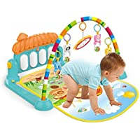 Mimu Shop Gym for Baby Play Mat Toddler Blanket Piano Pedal Fitness Hanging Toys with Music (Big)