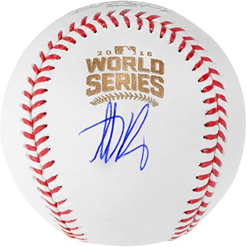 Anthony Rizzo Chicago Cubs Autographed 2016 MLB World Series Baseball - Fanatics Authentic Certified (Mlb Baseball Autographed Cubs)