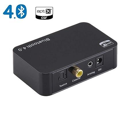 Amazon.com: ILYO Transmisor Bluetooth, transmisor ...