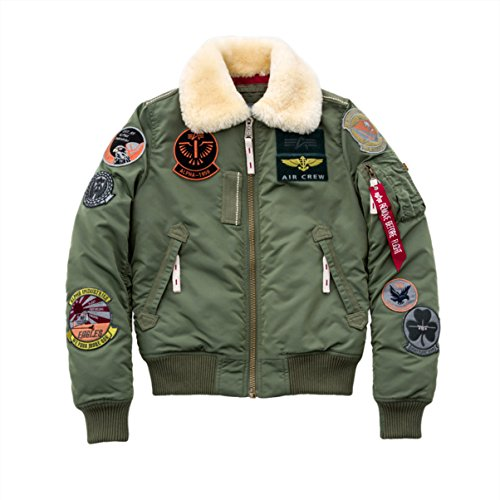 Di Giacca Green Donne Iii Alpha Injector Verde Sage Industries Wmn Bomber Patch Rzq6wUZ