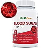 BEST Blood Sugar Control Supplement (NON-GMO) : Supports Healthy Blood Glucose Levels Naturally with Bitter Melon, Magnesium, Gymnema Sylvestre, Guggul Herbs & More: 60 Caps