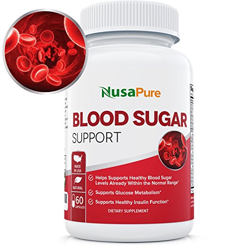Reliable Blood Sugar Control Supplement: Supports Healthy Blood Glucose Levels Naturally with Bitter Melon, Magnesium, Gymnema Sylvestre, Guggul Herbs & More: 60 Caps