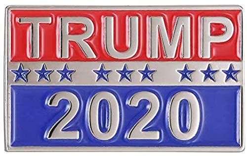 Wholesale Lot of 10 Donald Trump For President 2020 Soft Enamel Pin Badge - Shipped from USA from Patriotic Wear