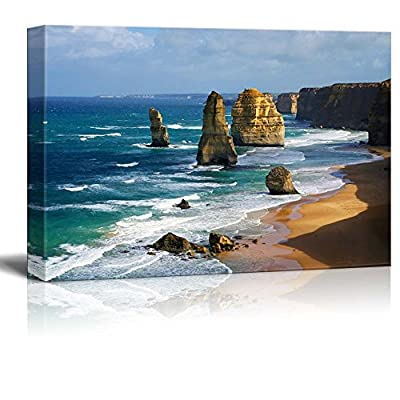 Beautiful Scenery Landscape Dramatic Beautiful 12 Apostles in Australia Wall Decor, Classic Design, Unbelievable Work of Art