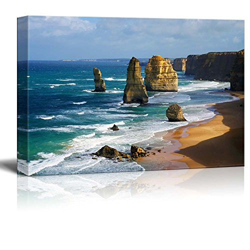 Beautiful Scenery Landscape Dramatic Beautiful 12 Apostles in Australia Wall Decor ation