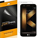 [6-Pack] Supershieldz for LG K20 Plus Screen Protector, Anti-Bubble High Definition Clear Shield -Lifetime Replacements Warranty - Retail Packaging