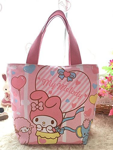 CJB Lovely My Melody Multipurpose Lunch Bag Pink Balloon (US Seller) by CJB Melody