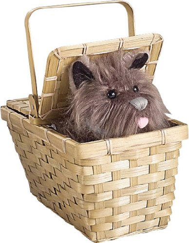 The Wizard Of Oz Dorothy Dog Costumes (Wizard of Oz Dorothy's Toto in a Basket)