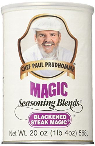 - Blackened Steak Magic Seasoning 20oz