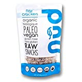 nud fud Organic Raw Crackers, Carrot Flax, 66g
