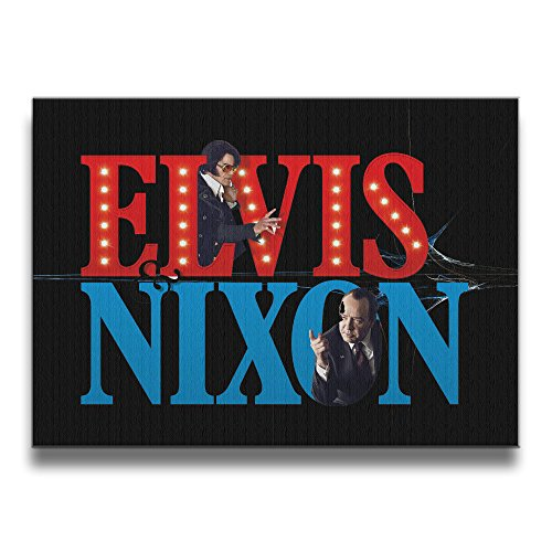 Bekey Elvis & Nixon Canvas Prints Artwork For Home Office Decorations Wall Decor For Living Room&bedroom