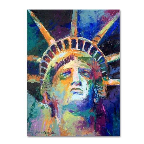 Statue by Richard Wallich, Statue of Liberty Wall Art