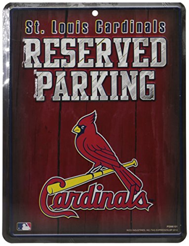 MLB St. Louis Cardinals Parking Sign