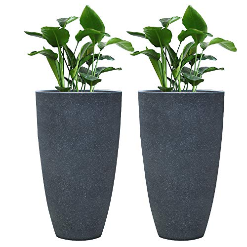 - Tall Planter Set 2 Flower Pots, 20