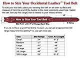 Occidental Leather 8385 LG Black Belt Rough Framer