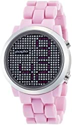 PHOSPHOR watch Appear Pink bracelet MD011L