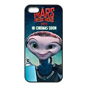 iphone5 5s cell phone cases Black Mars Needs Moms fashion phone cases HRE4530100