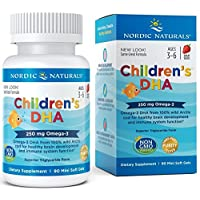 Nordic Naturals - Children's DHA, Healthy Cognitive Development and Immune Function...
